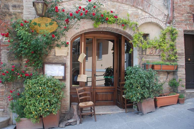 A shop in Montepulciano Tuscany. Image Belinda Murrell