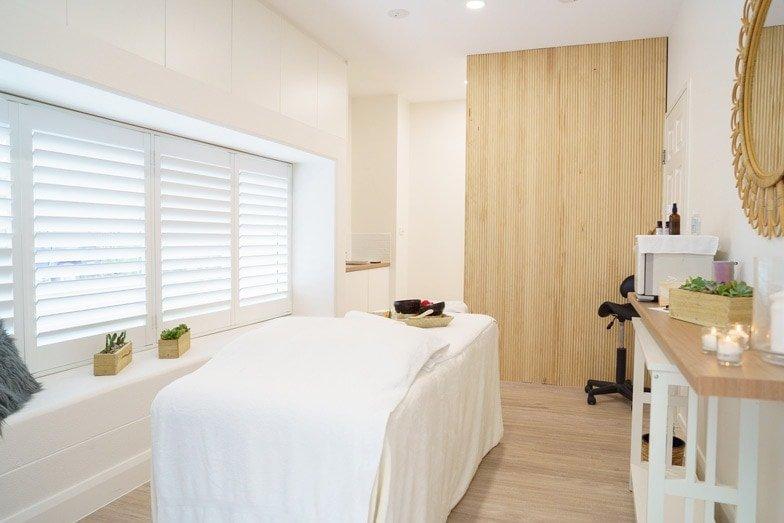 A treatment room at Seascape at North Star Holiday Resort - a major revamp
