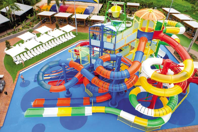 BIG4 Gold Coast Holiday Park is home to the tallest waterslide in Australia