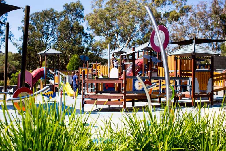 Boundless playground. Image Kara Rosenlund VisitCanberra