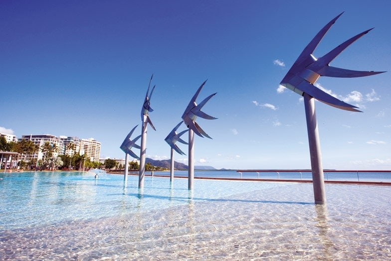 Cairns Lagoon. Image Tourism and Events Queensland