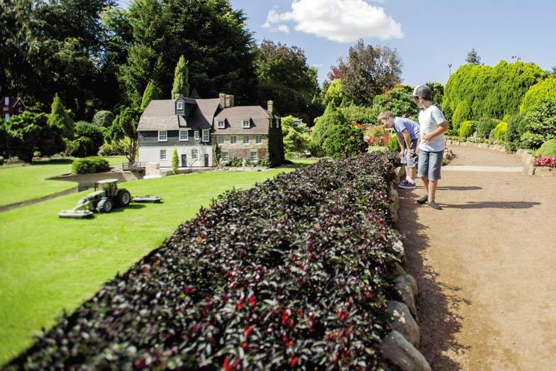 Cockington Green Gardens. Image VisitCanberra