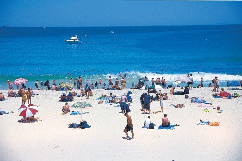 Cottesloe Beach. Image Tourism Western Australia