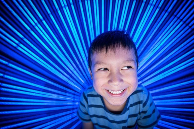 Discover science at Questacon. Image VisitCanberra