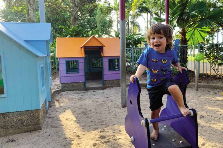FEATURE Oliver in his element at Muddys Playground