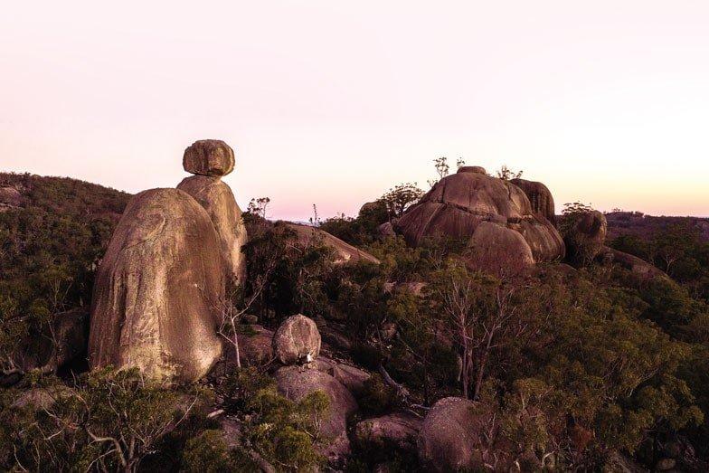 Girraween National Park in Queenslands Granite Belt with kids