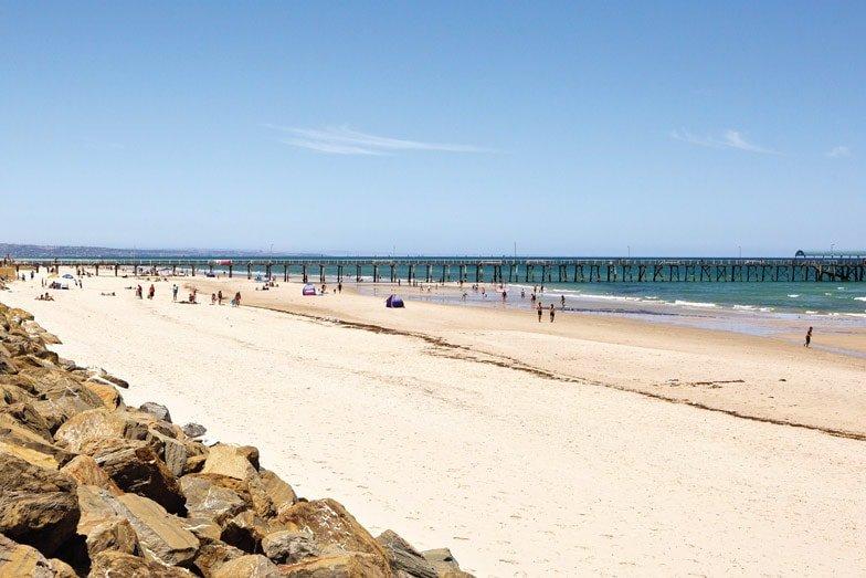 Henley Beach. Image South Australian Tourism Commission