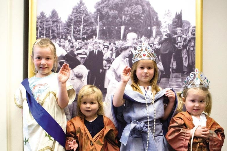 Learn about the royals at The Museum of Australian Democracy. Image Penny Bradfield VisitCanberra