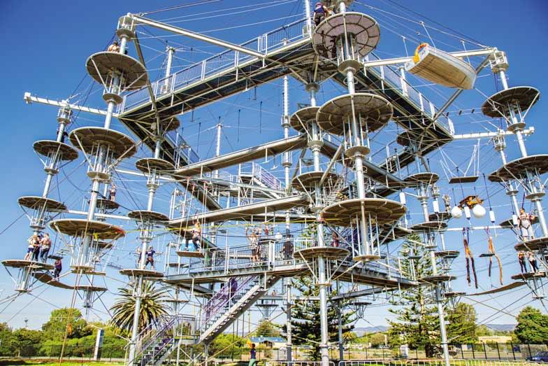 Mega Adventure Park in Adelaide