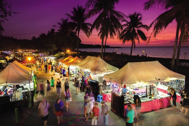 Mindil Beach Sunset Markets. Image Charlie Bliss