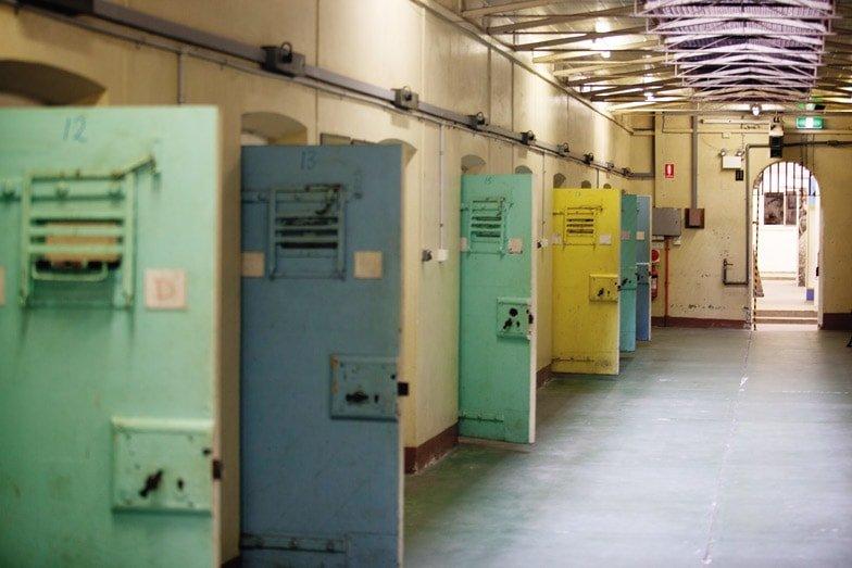 Peek inside Adelaide Gaol