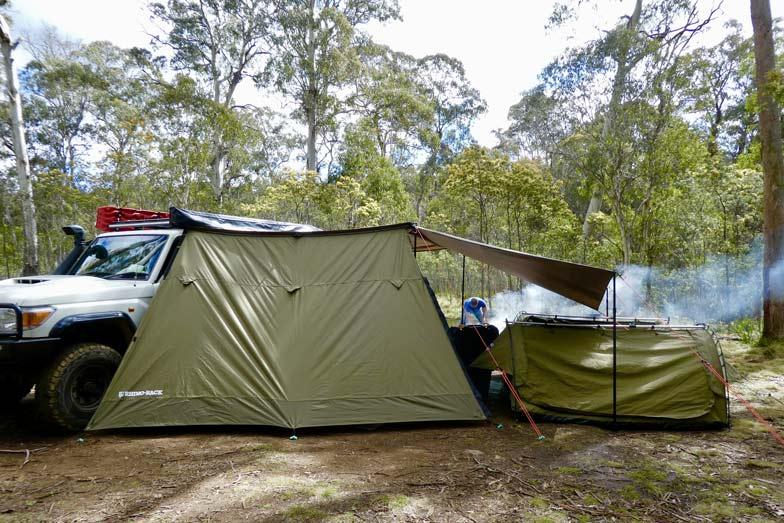 Remote camping. Image Hadassa Rorke
