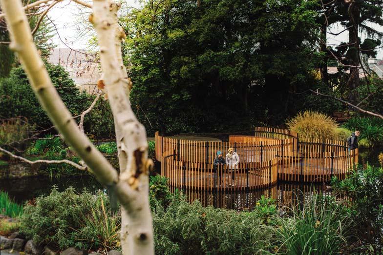Royal Tasmanian Botanical Gardens. Image Lusy Productions