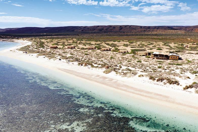 Sal Salis at Ningaloo Reef. Image Tourism Western Australia