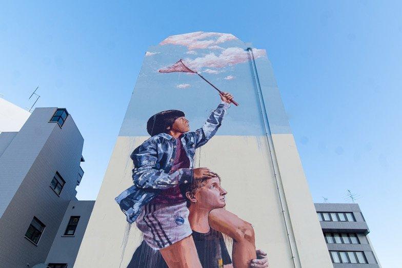 See street art in Dunedin