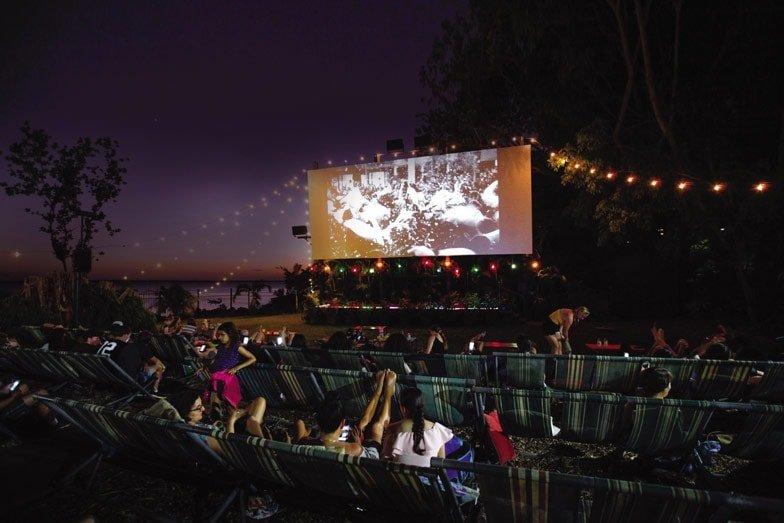 The Deckchair Cinema in Darwin. Image Tourism NT Friederike Franze