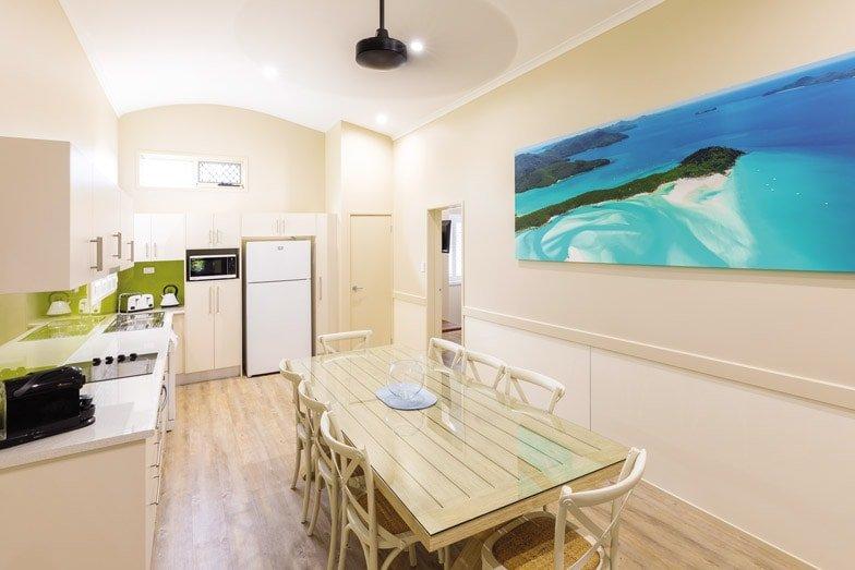 The kitchen in the Whitehaven condo