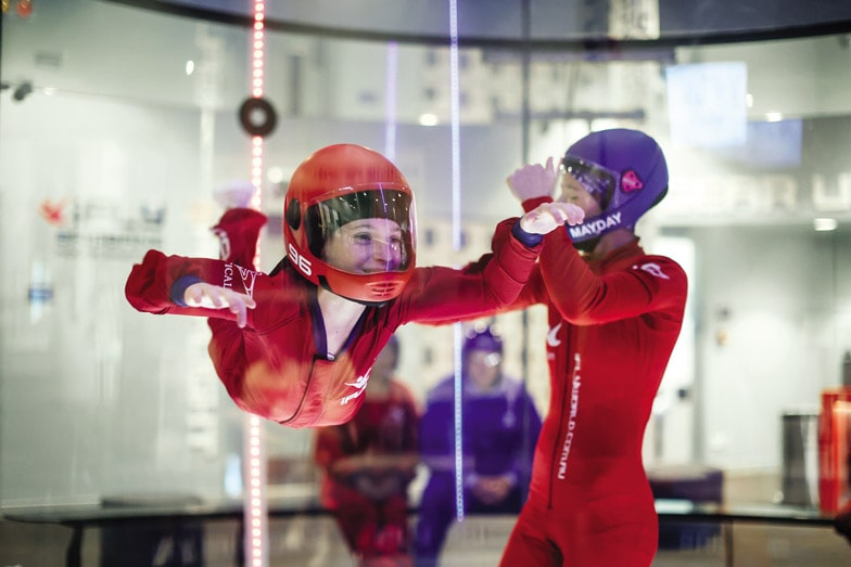 Try indoor skydiving at iFly Perth