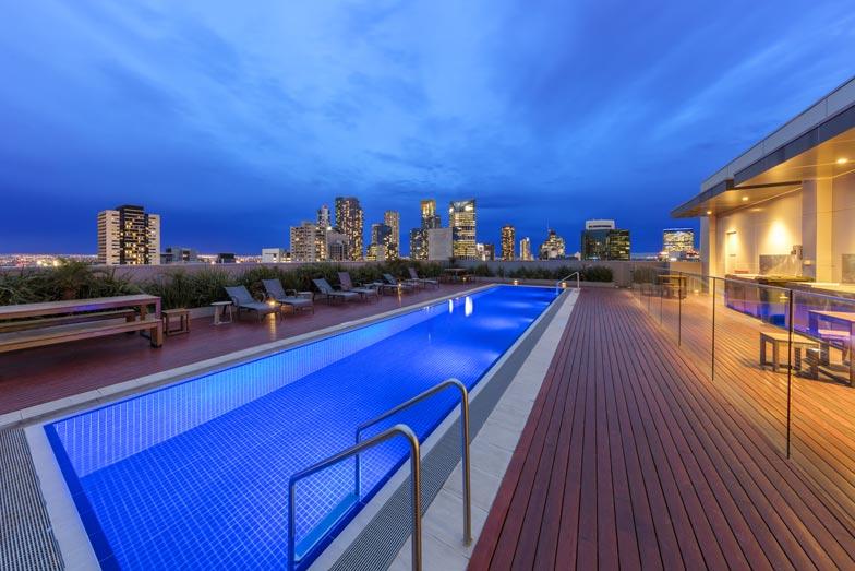 Wyndham Hotel Melbourne Rooftop