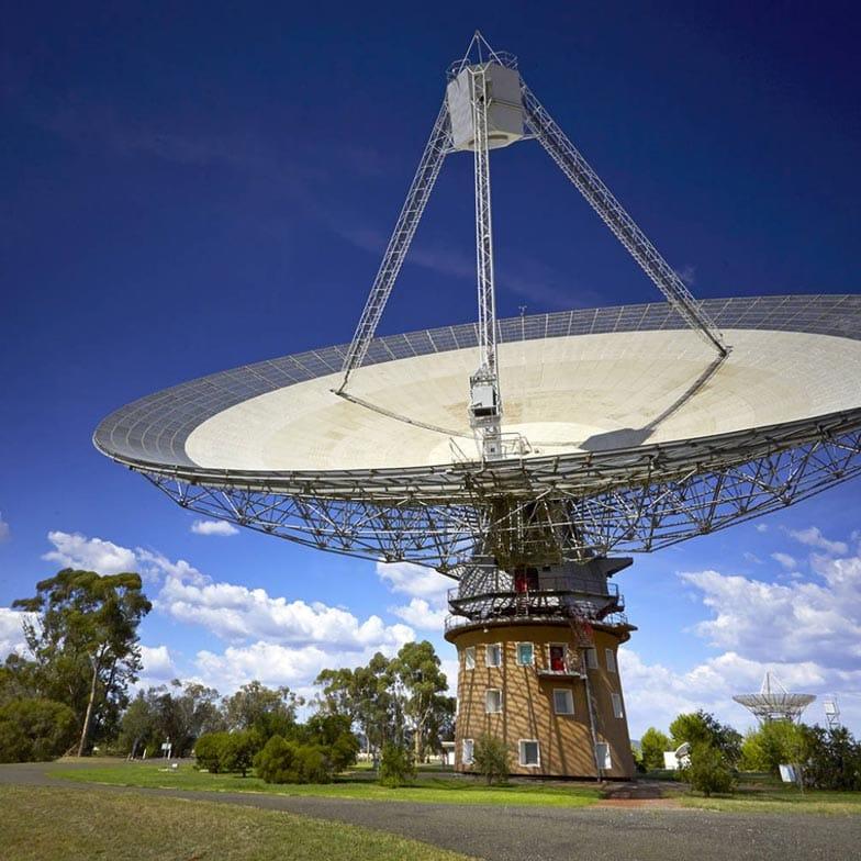 The Dish in Parkes Photo Destination NSW