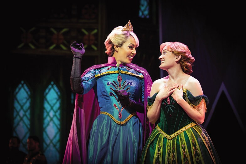 Anna and Elsa in Frozen Live at the Hyperion