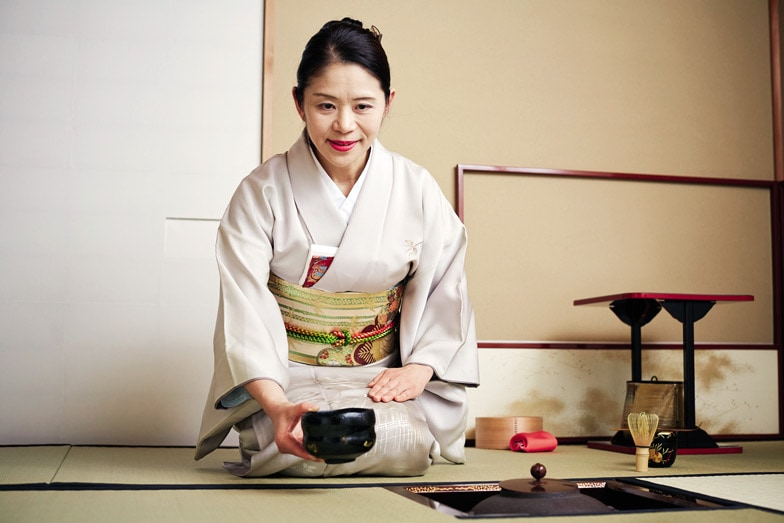 Kids will love experiencing a traditional tea ceremony at the hotel