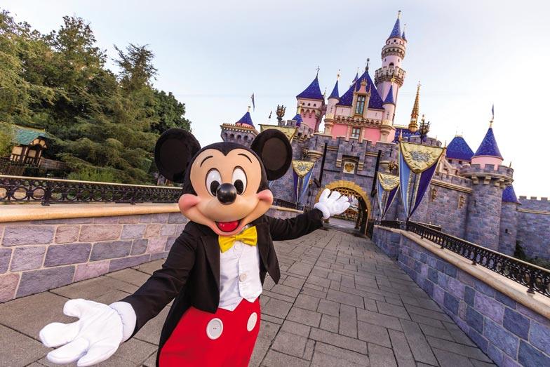 Mickey Mouse at Disneyland Resort in Anaheim California. Image Joshua Sudock Disneyland Resort
