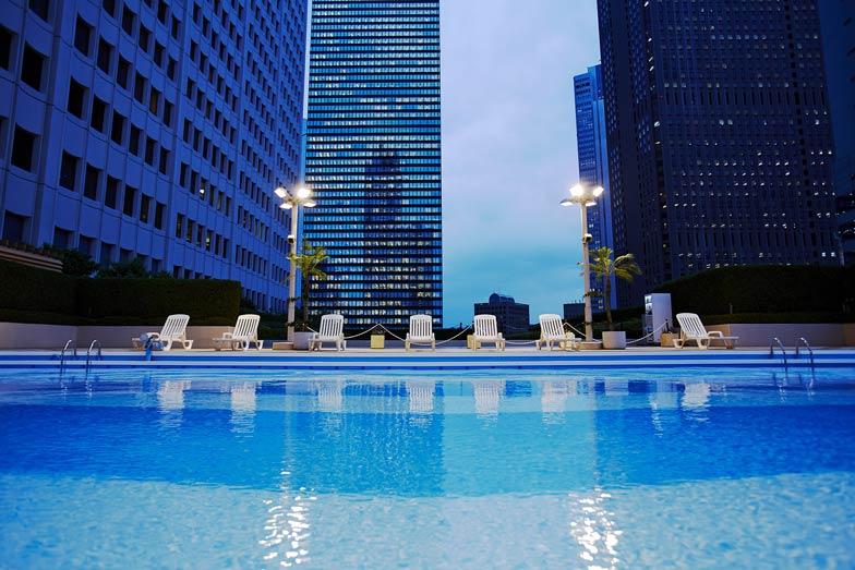 Take a dip in the Sky Pool
