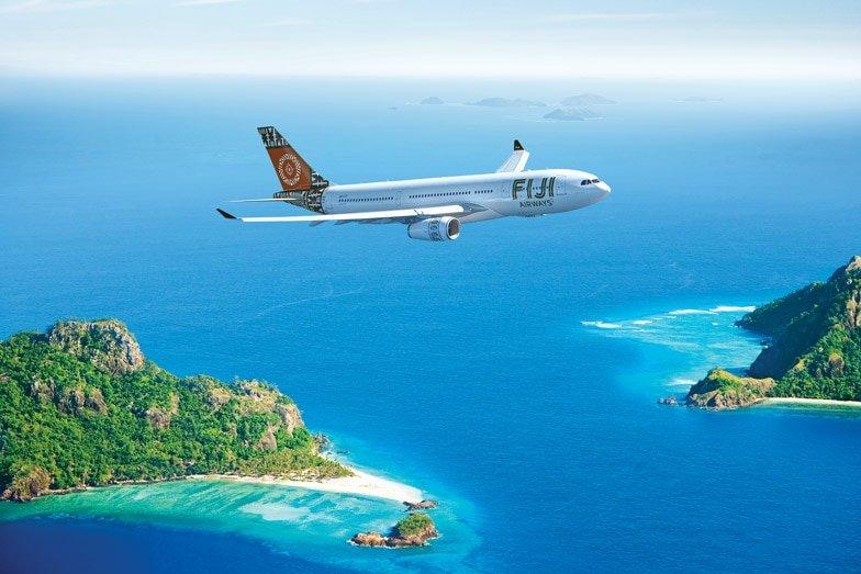 A Fiji Airways plane