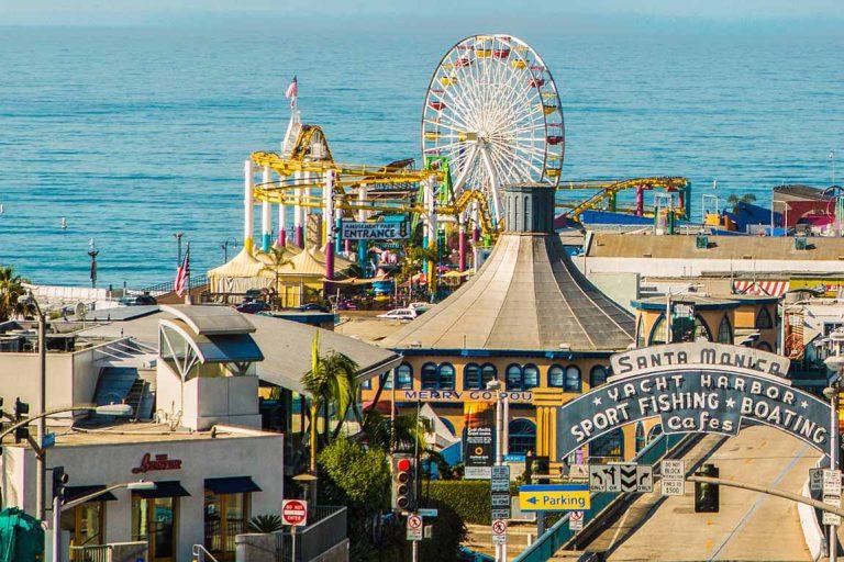 FEATURE Santa Monica Pier. Image Joakim Lloyd Raboff