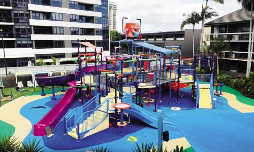 feat the revamped water park at paradise resort gold coast